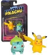 Wicked Cool Toys | Pokemon | Meisterdetektiv Pikachu | Mini Figuren Meisterdetektiv Pikachu & Bisasam