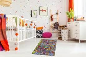 misento Kinderteppich Straßenteppich Spielunterlage Kinderzimmer Schadstoff geprüft 165 x 100 cm
