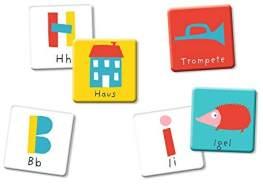 Schulanfang Mein Buchstaben-Memo. Abc-Lernspiel