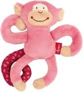 sigikid, Mädchen, Aktiv-Anhänger mit Rassel, Affe, Pink, 42168