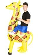 Bodysocks® Aufblasbares Giraffe Kostüm für Erwachsene