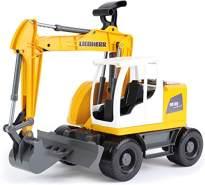 Lena Worxx 04611 Landfahrzeug-Modell Vormontiert Bagger-Modell 1:15 - Landfahrzeug-Modelle (Vormontiert, Bagger-Modell, 1:15, Liebherr A 918 Litronic, Kunststoff, 3 Jahr(E))
