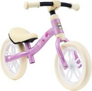 BIKESTAR Federleichtes (3 KG!) Kinderlaufrad Lauflernrad Kinderrad für Jungen und Mädchen ab 2 - 3 Jahre | Mitwachsendes 10 Zoll Kinder Laufrad Lightrunner | Pink | Risikofrei Testen