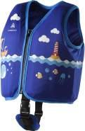 Firefly Kinder Schwimmwest-293227 Schwimmwest, Blue/Multicolor, XS