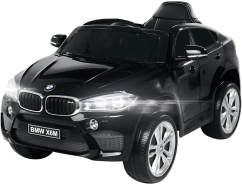 Elektroauto BMW X6M SUV Kinderauto Elektrofahrzeug Kinder Elektro Auto Spielzeug (Schwarz)