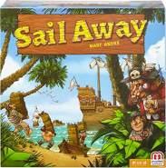 Mattel Games DNM66 Sail Away, Strategiespiel und Familienspiel geeignet für 2 - 4 Spieler, Spieldauer ca. 40 - 60 Minuten, ab 10 Jahren