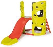 Smoby Abenteuer-Kletterturm mit Rutsche Spielturm für Kinder, mit Kletterwänden und Wasserrutsche für Indoor und Outdoor, für Kinder ab 2 Jahren