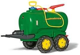Rolly Toys rollyTanker John Deere Tankwagen (für Kinder 3-10 Jahre, mit Pumpe und Spritze, 30 Liter, Auslaufhahn) 122752