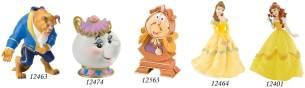 Bullyland 12401 - Spielfigur, Walt Disney Die Schöne und das Biest, Belle, ca. 10,5 cm groß, liebevoll handbemalte Figur, PVC-frei, tolles Geschenk für Jungen und Mädchen zum fantasievollen Spielen