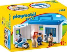 Playmobil 1.2.3 9382 'Meine Mitnehm-Polizeistation', ab 1,5 Jahren