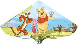 Paul Günther 1105 - Kinderdrachen Winnie the Pooh, ca. 115 x 63 cm