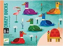 DJECO Kartenspiele: Crazy Ducks