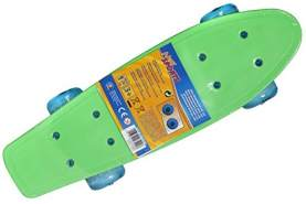 New Sport Mini Skateboard mit LED, 41,5x12cm