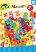 Lena 65746 Magnet Kleinbuchstaben, ca. 3 cm, 36 Stück