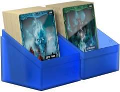 Ultimate Guard UGD010691 Boulder Deck Case, 100 Plus, Standardgröße, Saphir