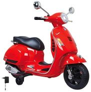 Jamara Ride-on Vespa rot 12V