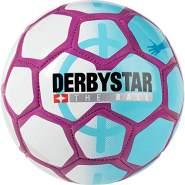 Derbystar Street Soccer, weiß/blau/purple, Gr. 5