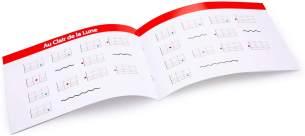 New Classic Toys - 10300 - Musikinstrument - Spielzeug Holzgitarre - Natur/Rot