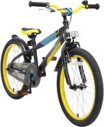 Bikestar Kinderfahrrad Urban Jungle schwarz-grün 27,5 Zoll
