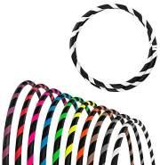 Faltbarer Anfänger Hula Hoop Reifen, Ø100cm, Weiss