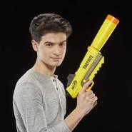 Nerf E6717EU4 SP-L Blaster mit abnehmbarem Lauf und 6 Fortnite Elite Darts für Jugendliche und Erwachsene, Mehrfarbig