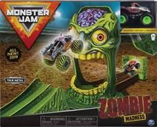 MonsterJam 6045029 - Spielset Sortiement mit Monstertruck aus Druckguss 1:64 (Variante wird zufällig ausgewählt)