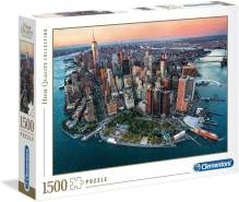 Clementoni 31810' New York-Puzzle 1500 Teile-High Quality Collection, Mehrfarben