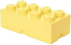 Lego 'Storage Brick 8' Aufbewahrungsbox hellgelb