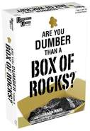 University Games 1490 Are You Dumber Than a Box of Rocks Trivia Spiel, Weiß