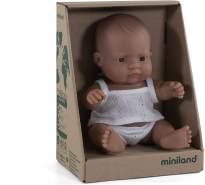 Miniland 31127 - Baby (südamerikanischer Junge) 21 cm