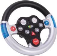 BIG Rescue Sound Wheel Lenkrad mit verschiedenen Rettungs Sounds, für Bobby Cars ab dem Baujahr 2010, sowie für BIG Traktoren, Spielzeuglenkrad für Kinder ab 1 Jahr