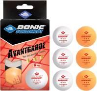 Donic-Schildkröt - TT-Ball 3-Stern AVANTGARDE POLY 40+, mixed 3 white/ 3orange