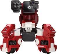 GJS Robot – Gaming-Roboter GEIO mit App-basierter Augmented Reality, visueller Erkennung, Mehrspieler-Kampfmodus und Programmierschnittstelle zur Förderung der MINT-Kompetenzen – Farbe Rot