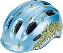 ABUS Fahrradhelm Smiley 2. 0 Kinder - blue croco - 50-55 cm