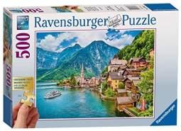 Ravensburger Puzzle 13687 - Hallstatt in Österreich - 500 Teile