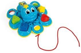 Clementoni 59137 Oktopus Formensortierer, Mehrfarben
