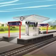 Märklin my world 72213 - Bahnsteig mit Licht, Spur H0