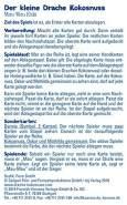 KOSMOS 741686 Der kleine Drache Kokosnuss - Mau-Mau Kids, Kartenspiel