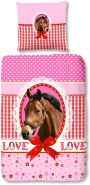 Good morning 'My Horse' Renforcé Bettwäsche 135 x 200 cm