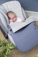 BO Baby's Only - Fußsack Autositz 0+ Flavor - Olive - 100% Polyacryl