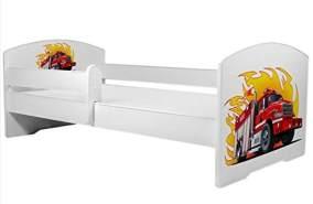 Angelbeds 'Luk2 Luk' Kinderbett 80 x 160 cm, Motiv 22, mit Lattenrost, Matratze und mit Bettschublade