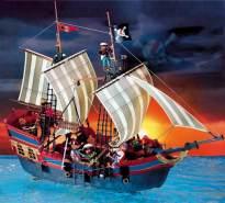 PLAYMOBIL - Großes Piratenflaggschiff 3940