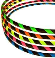 Hula Hoop Reifen für Anfänger, Ø100cm, Neon-Yellow