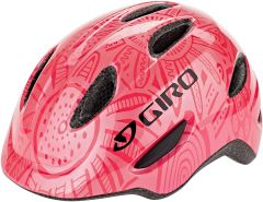 Giro Unisex Jugend Scamp Fahrradhelm Youth, Bright pink-Pearl, XS