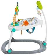 Fisher-Price Mattel FDG98 DE Colourful Carnival SpaceSaver Jumperoo, Baby-Hopser mit Deutscher Anleitung