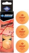 Donic Tischtennisbälle Avantgarde 3* 40+ 3 Stück orange