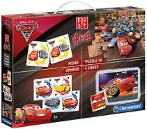 Clementoni 13710 Edukit 4 in 1 - Cars