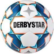 Derbystar Kinder Stratos S-Light, 1038300167 Fußball, Weiss blau orange, 3