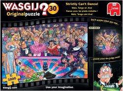 Jumbo Spiele GmbH 19160 - Wasgij Original 30: Walzer, Tango und Jive! (1000 Teile)