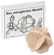 Bartl 102591 Mini-Holz-Puzzle Das missglückte Modell aus 7 kleinen Holzteilen